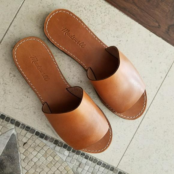 7a4563671314 Madewell Shoes - Madewell Boardwalk Simple Slide Sandal